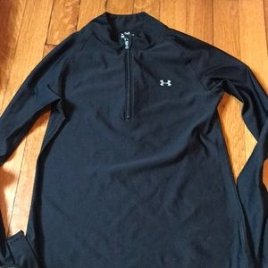 Under armor half-zip long sleeve